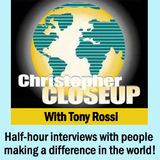 Cheri Lomonte - the founder of the Frontline Faith Project on Christopher Closeup with Tony Rossi