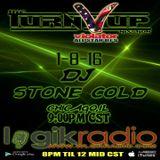 DJ STONE COLD - TOP 40 MIX THE TURN UP SHOW VIOLATOR ALL STAR DJS 1-8-16