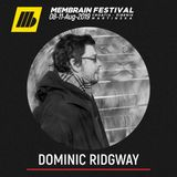 Dominic Ridgway - Membrain Festival 2019 promo