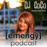 Emengy Podcast 044 - DJ Coco