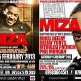 Miza plays Afrika's Calling 01.02.2013