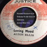 pirates choice#418 Tribute Mr Soul Of Jamaica Alton Ellis O.D.