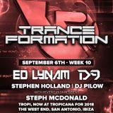 Dj Pilow - Reverie pres. TranceFormation @ Tropicana (San Antonio, Ibiza)