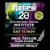 Paul Taylor Live @ Institute, Darlington, Retro's 28th Birthday 11-11-17