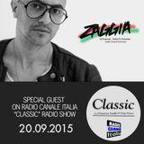 ▶ ZAGGIA ◀ RADIO CANALE ITALIA - CLASSIC Radio Show - 20.09.15 FREE DOWNLOAD - Deep House Mixtape