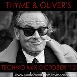 Techno Mix October 2012