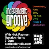 Independent Groove #72 20th January 2016