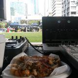 DJ Glide - Britomart Farmers Market - 7/6/14