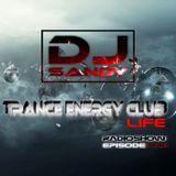 Sandy Dj - Trance Energy Club LIFE (Radioshow Episode 001)