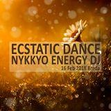 Ecstatic Dance 16 February 2018 Breda - Nykkyo Energy DJ