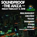 ATASH - Recorded Live At SOUNDPROOF @ The ANZA [02.02.2018]
