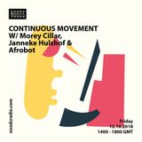Continuous Movement: 12th October '18