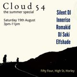 Silent DJ Set (Early) - Cloud 54 - 19/08/17 @ Fifty Four, Horley