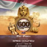 Greg Downey - Live At FSOE 600 Pre Party / Bangkok [08/11/2019]