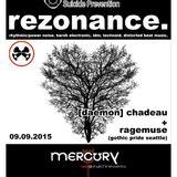 20150909 - Rezonance @ Mercury Pt II