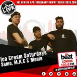 #IceCreamSaturdays: @DJSemo @Macnificent32 @Moniie_Talks 2.09.2017 7PM - 9PM [GMT]