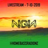 Home Bass Radio Livestream 7-10-2019 - NGN