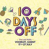 Dave Clarke @ 10 Days Off - The Last Waltz - Day 01 - Belgium 17-07-2014