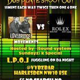 Nail In Da Coffin Sound Clash PT7 - LoveBridge v Rolex Sound@ Vybz Bar Harlsden London UK 10.1.2019