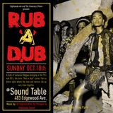 RUB-A-DUB - Highlanda Sound live Juggling 10-18-15 in Atlanta at The Sound Table