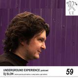 Underground Experience Podcast - Dj SLON (techno,electro, spb techno, acid techno, wonky techno)059