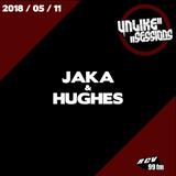 Unlike Sessions Radio Show - 2018-05-11 - Jaka & Hughes