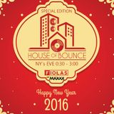 djFiołas - House of Bounce - New Year 2016 Special Edition