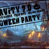 "Julian Parity ::: Gravity 7.0 ""Halloween Party"" by Logistik Sound @ 4 Elements, Paris (31/10/2015)"