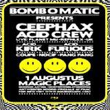 Ceephax Acid Crew (Live PA) @ Bomb O Matic - Magic Places Antwerpen - 01.08.2008