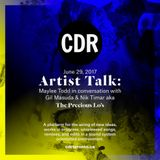 CDR Artist Talk: Maylee Todd in conversation with Nik Timar & Gil Masuda aka The Precious Lo's