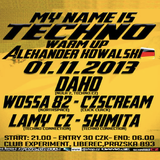 Daho@MyNameisTechno (01.11.2013 Liberec/Experiment)