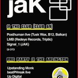 JAK PRE PARTY AT THE ARLINGTON - UP DIGITAL