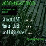 Omnicast Radio_Mars : B3ntob0t (LIVE PA)