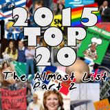 2015 Top 20 - The Almost List - Part 2