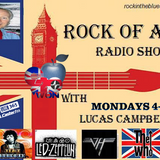 Rock Of Ages Radio Show With Lucas Campbell (12/3/18)