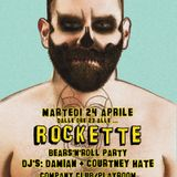 PUNK UP YOUR LIFE_Mixed By Courtney Hate - ROCKETTE PARTY gay and friends once a month @ Company