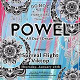 Viktop & Surreal Flight's: Warm up set for Powel at Do Not Sit On The Furniture Miami (26.01.2017)