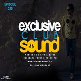 Exclusive Club Sound Podcast 035 with Álvaro Albarrán (27-01-2015)
