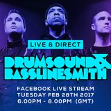 Drumsound & Bassline Smith - Live & Direct #27 [28-02-17]