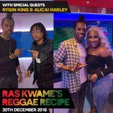 Reggae Recipe - 30/12/18 (Reggae / Dancehall / Bass / Bashment / Afrobeats)