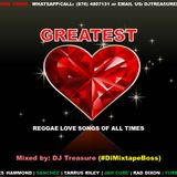 GREATEST REGGAE LOVE SONGS OF ALL TIMES | DJ TREASURE #1 LOVERS ROCK MIX 2017 18764807131