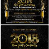 New Years Eve @The Arch Wembley - The Full Dance