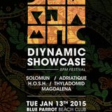 H.O.S.H. @ Diynamic Showcase - BPM Festival 2015