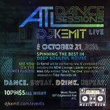 DJ Kemit presents ATL Dance Session October 2016 Promo Mix