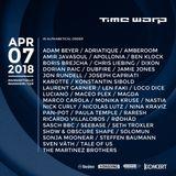 Dubfire @ Time Warp 2018, Maimarkthalle, Mannheim - 07 April 2018