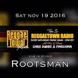 REGGAETOWN - NOVEMBER 19 2016