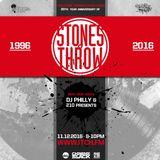 Dj Philly & 210 Presents - Trackside Burners Radio Show 163 - STONES THROW