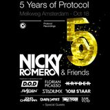 Nicky Romero Friends Live at 5 Years of Protocol ADE 2017
