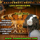 YAAD MOB LIVE INTERVIEW WITH DJ JAMMY ON ZIONHIGHNESS RADIO 121217