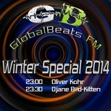RiSo Delic presents : Djane Bad Kitten @ GlobalBeats FM Winterspecial 2014 // White Channel